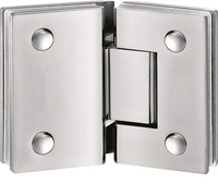 greenland hardware-frameless glass shower door hinges-KB203
